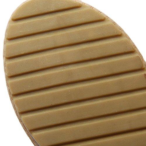 Minetom Femme Sandales Rhinestone Tongs Compensées Fille Chaussures de plage dété Tongs Argent