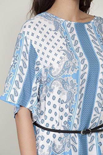 Tantra Damen Kleid, Casual Dress9687 Blau