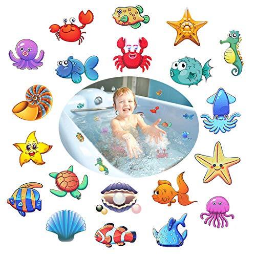 Afufu Pegatinas Antideslizantes para bañera