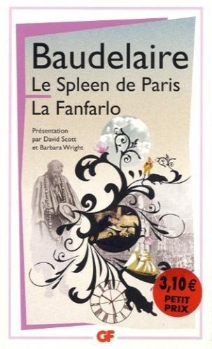 Le Spleen de Paris ; La Fanfarlo by Charles Baudelaire (2013-08-24) Pdf - ePub - Audiolivre Telecharger