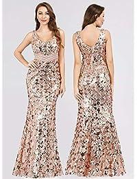 db2515eb3859 Amazon.it  abiti da cerimonia - Oro   Vestiti   Donna  Abbigliamento