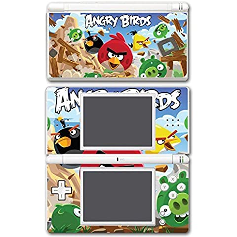 Angry Birds Red Chuck Bomb Pig Video Game Vinyl Decal Skin Sticker Cover for Nintendo DS Lite System by Vinyl Skin