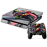 Moto GP PS4 Playstation 4 Console + 2 Controllers Skin Sticker Vinyl Decal Set by Skins 'R' Us