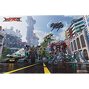 Lego Ninjago - Mech Poster Drucken (86,36 x 55,88 cm)