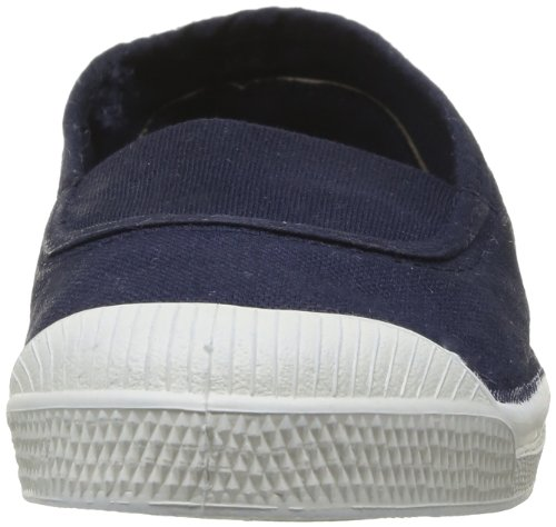 Bensimon Tennis Elastique, Baskets mode mixte enfant Bleu (Marine 516)