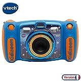 VTech - Kidizoom Duo 5.0 - Bleu - Appareil Photo Enfant - Appareil Photo Numérique