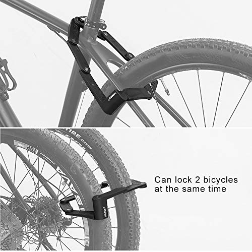 Zoom IMG-1 dinoka lucchetto bici antifurto portatile