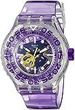 Swatch Unisex-Armbanduhr Analog Quarz Plastik SUUK106