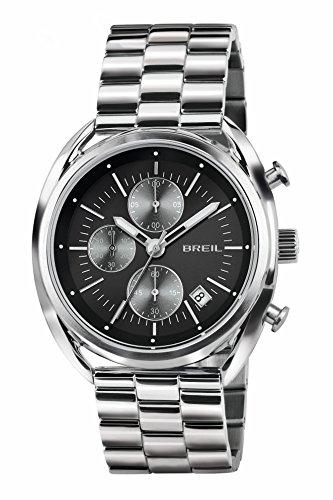 Breil orologio cronografo quarzo uomo con cinturino in acciaio inox tw1514