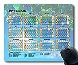 Calendrier 2019 avec Blocs de Vacances Importants, Tapis de Souris, actualités du Ciel Tapis de Souris Gaming