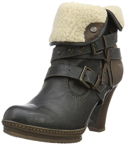 Mustang 1107604, Boots femme Gris (259 Graphit)