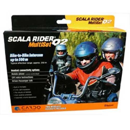 Cardo Scala Rider Q2PRO Kopfhörer in-Ear Kopfhörer Kabellos mit Mikrofon Bluetooth