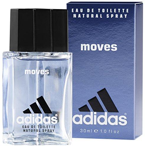 adidas Moves For Him Eau de Toilette - Das Herren Parfüm mit aufregendem, erfrischendem Duft verleiht eine vitalisierende Wirkung - 1 x 30 ml - Adidas Pure Parfüm