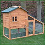 FeelGoodUK Rabbit Hutch, 150 x 100 x 66 cm