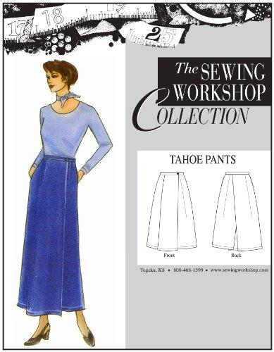 The Nähen Workshop Tahoe Pants nähen Vorlage, Multi-Size -