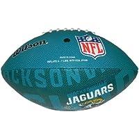 Wilson Football NFL Junior Jacksonville Jaguars Logo - Balón de fútbol americano (infantil, caucho), color multicolor, talla 5