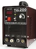 Allumage IGBT avec masque de soudage et accessoires de soudage TIG 200A Inverter TIG/MMA HF professionnel