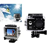 Black : Kolylong Mini H9 2inch Ultra HD 1080p 4K Sport 170° Wide WiFi Action Camera DV