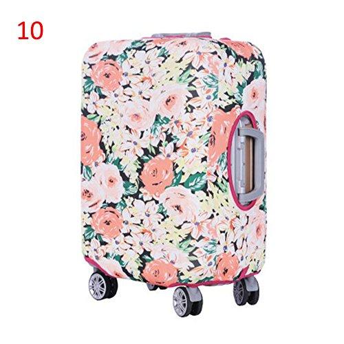 Zhuhaixmy Neu Elastisch Dustproof Gepäck Koffer Trolley Schutz Tasche Abdeckung Anti-Kratzer #10