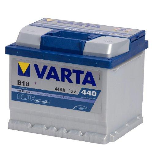 Varta B18 Autobatterie 58344 Blue Dynamic, 12V,  44 Ah, 440 A