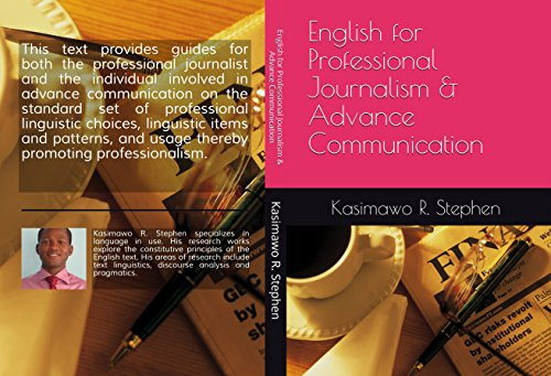 English For Journalists Ebook