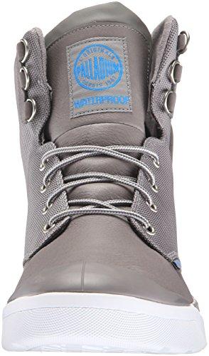 Palladium Herren Pallarue Hi Cuff Wp Combat Boots Weiß (090)