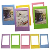 #6: Giani Lode Paper Photo Frame Film Decor Borders for Fujifilm 3 inches Instax mini 8,7S,25,50S,90 Instant Camera Films (XK-5Color)