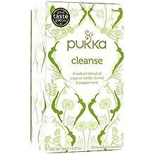 (12 PACK) - Pukka Herbs - Cleanse Tea   20 sachet   12 PACK BUNDLE by Pukka