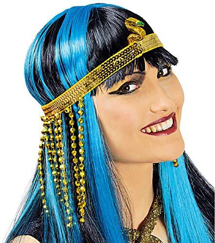 narrenkiste K83250653-A goldfarbend Damen Ägyptisches Stirnband Cleopatra - Ägyptischer Soldat Kostüm