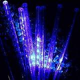 TianranRT 50 CM String Licht Meteor Dusche Regen 8Tube Im Freien Licht Weihnachten Xmas Baum (Blau)