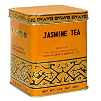 Sunflower Jasmine Tea, 8-Ounce Tins (Pack of 4)