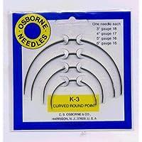 Rond-Point Kit d'aiguilles à coudre incurvées
