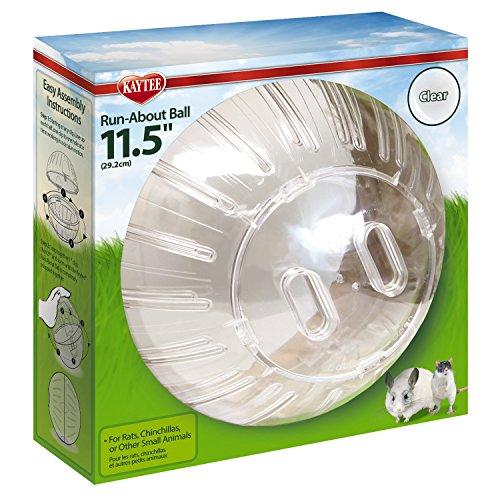 Beeztees 805652 Hamsterspielball, 29 cm, transparent