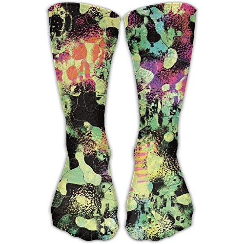 Bag shrots Men's/Women's LSD Trippy Psychedelic Mirror Casual Elastic Socks Length 30 Cm (Womens Bamboo Riding Boots)
