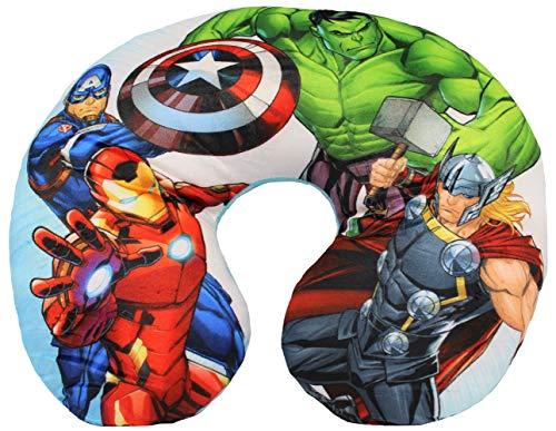 Marvel Avengers Nackenkissen Reisekissen für Kinder, Superhelden