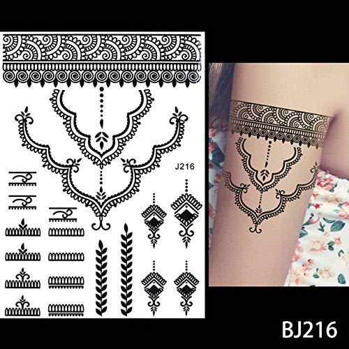 Adgkitb 3 Piezas Impermeable Tatuaje Joya Encaje Secreto