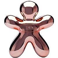 MrandMrs Diffuseur électronique de parfum George Bluetooth Chrome/rose Rose/doré
