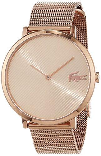Lacoste Unisex Analog Quarz Uhr mit Edelstahl Armband 2001028