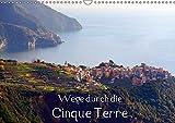 Wege durch die Cinque Terre (Wandkalender 2018 DIN A3 quer): Die Farben der Cinque Terre (Monatskalender, 14 Seiten ) (CALVENDO Orte) [Kalender] [Apr 04, 2017] Erbacher, Thomas - Thomas Erbacher