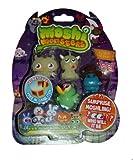 Moshi Monsters Halloween Moshlings 5 Pack- Professor Purplex, Snookums, Tiki, Humphrey & Surprise Figure
