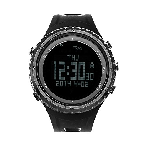 BOZLUN Intelligent Outdoor Digital Sports Watch With Compass 50M Waterproof Altimeter Barometer Thermometer Smart Bluetooth Wristwatch Calorie Record