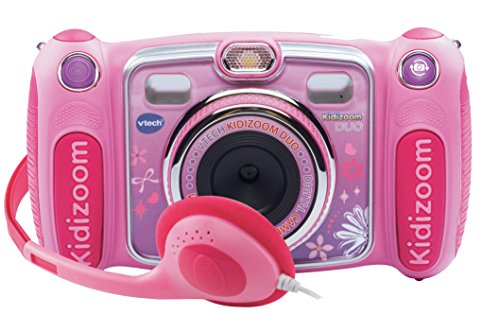 VTech - Kidizoom Duo, cámara de fotos digital, color rosa (3480-170857)
