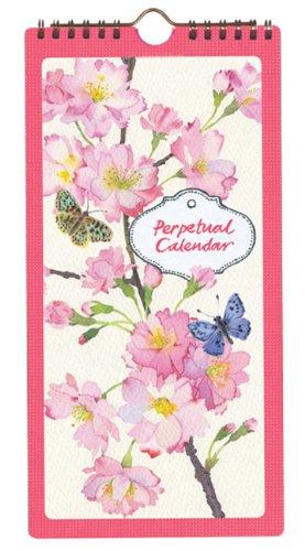 Cherry Blossom Garden: Perpetual Calendar