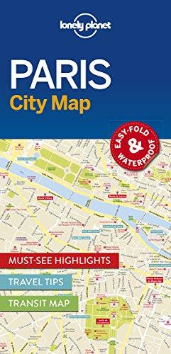 Lonely Planet Paris City Map (Lonely Planet City Maps) -