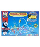 #3: Thomas And Friends Train Set With 360 Degree Rotation (Track Size - 72X45X32Cm)86 Pieces