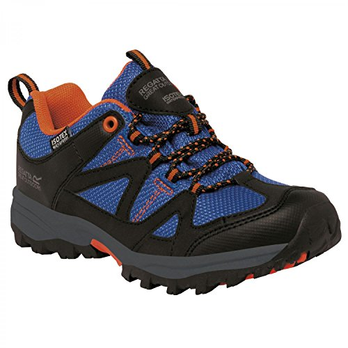 Regatta Boys Gatlin Low Isotex Waterproof Walking Shoes Surfsp / Koi Orange
