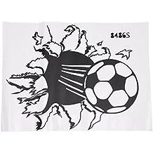 TOOGOO(R) Calcomania pegatina de pared de vinilo del futbol balon de futbol  Decoracion c70980868f3ce