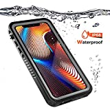 Underwater Housing for iPhone Xr, Grade IP68 Cell Phone Cases Swimming Underwater Photo Video Camera Waterproof Case Replacement for iiPhone Xr (Black)