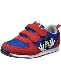 Zippy DIS Trainers Velcro PU Red, Zapatillas de Cross para Niños