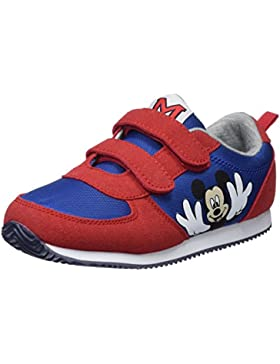 Zippy DIS Trainers Velcro PU Red, Zapatillas de Cross para Niños